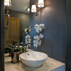 Traditional Powder Room by Home Interiors