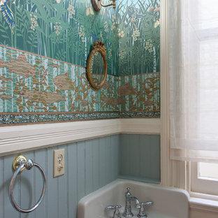 Idée de décoration pour un WC et toilettes victorien.