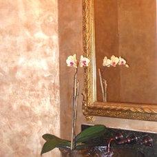 Traditional Powder Room by Bella Cucina