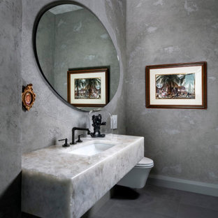 75 Beautiful Luxury Powder Room Pictures Ideas February 2021 Houzz