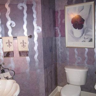Идея дизайна: туалет в современном стиле