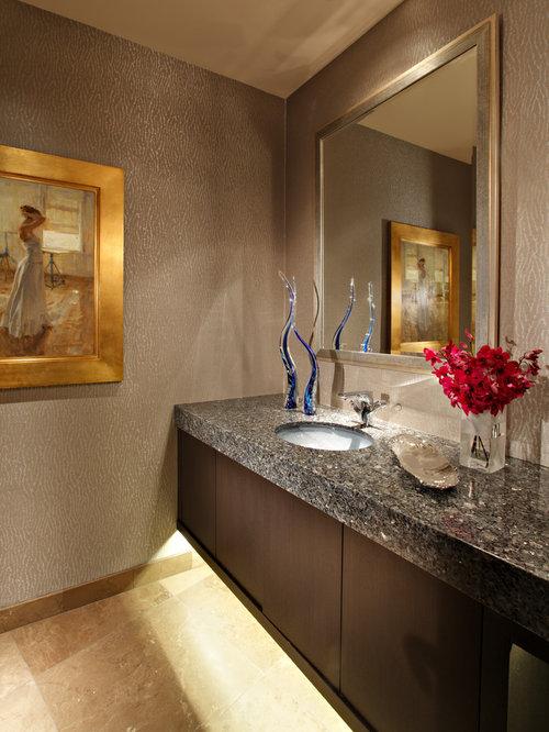 g stetoilette g ste wc mit granit waschbecken waschtisch und beigefarbenen fliesen ideen f r. Black Bedroom Furniture Sets. Home Design Ideas