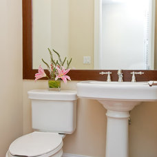 Traditional Powder Room by Roth Diversified Construction