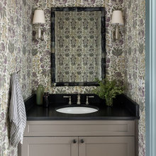 Backup Floral powder rooms