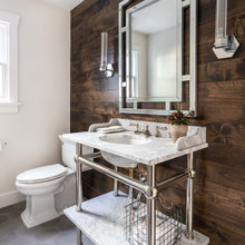 Backup Brown Powder Rooms
