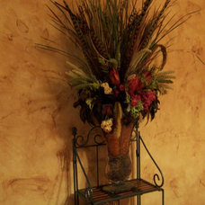 Traditional Powder Room by Greg Logsdon