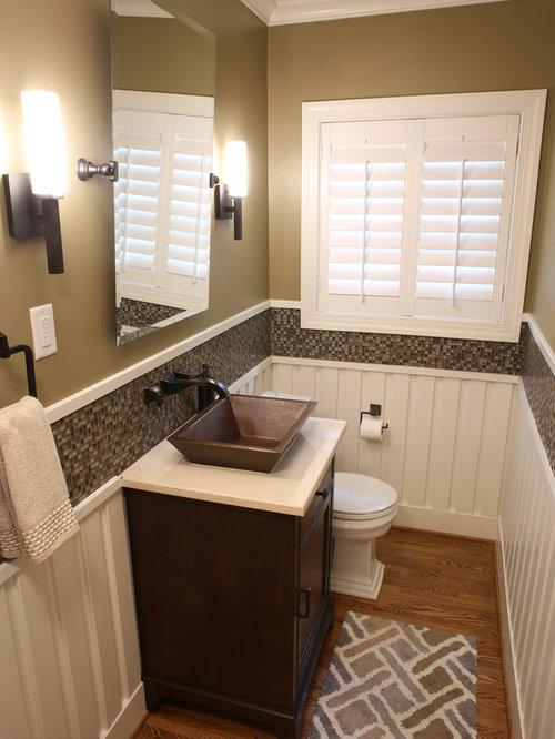 Craftsman Powder Room Design Ideas Remodels Amp Photos