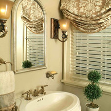 Traditional Bathroom by Kay Crowson Rasoletti Interior Design