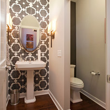 Contemporary Powder Room by Homes by Tradition