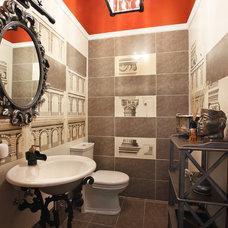 Traditional Powder Room by Fifth radius