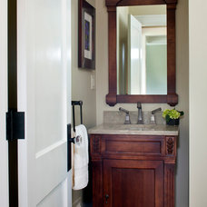 Traditional Powder Room by LDa Architecture & Interiors