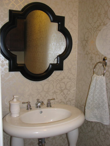 Eclectic Powder Room by Art of Living