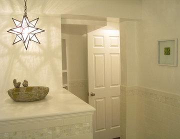 Small Yet Bright Powder Room