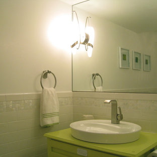 Small Yet Bright Powder Room