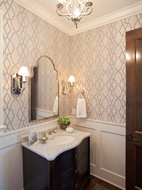 SaveEmail. Best Bathroom Wallpaper Design Ideas   Remodel Pictures   Houzz