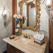 Traditional Powder Room by By Design Interiors, Inc