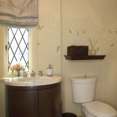 traditional powder room by Sonoma Decorative Arts