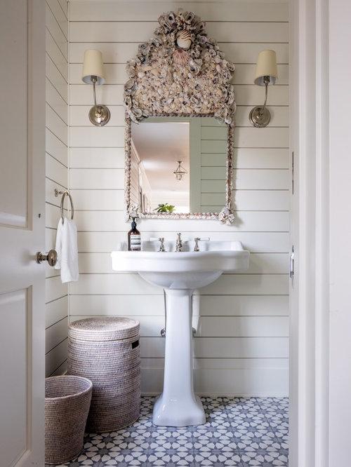 Foto e idee per bagni di servizio bagno di servizio al for Bagno cementine
