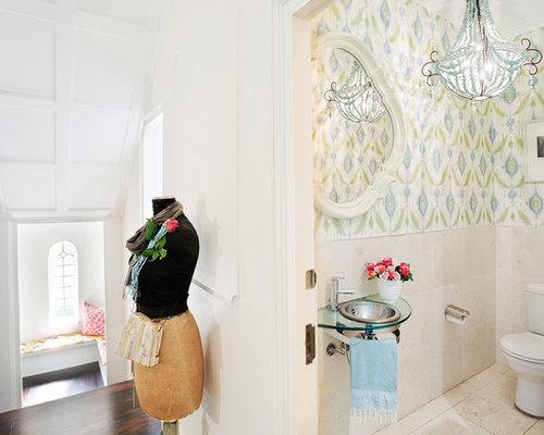 Handfat Toalett : Foton och inspiration för shabby chic inspirerade toaletter med