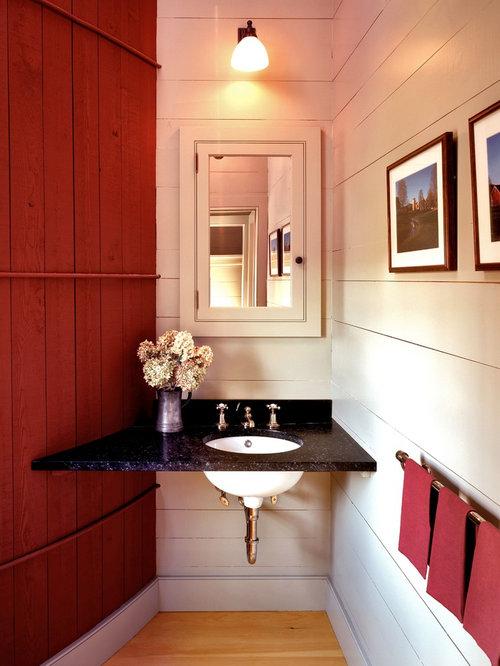 g stetoilette g ste wc mit farbigen w nden im landhausstil ideen f r g stebad und g ste wc. Black Bedroom Furniture Sets. Home Design Ideas