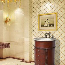 Traditional Powder Room by Vanities for Bathrooms