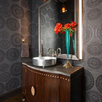 Stylish Comfort: Powder Bath