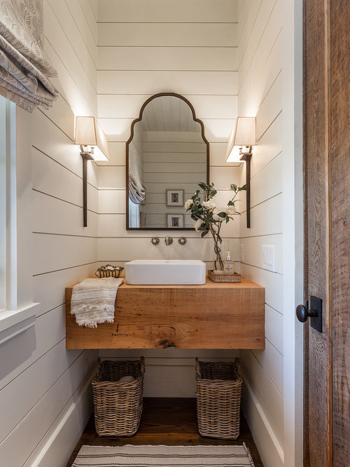 best 15 farmhouse powder room ideas | houzz
