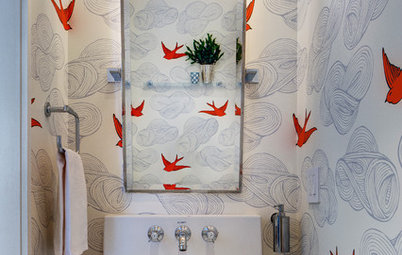 102 Eye-Popping Powder Rooms