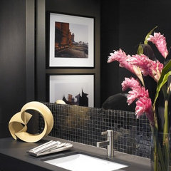 contemporary powder room by Turn Collaborative