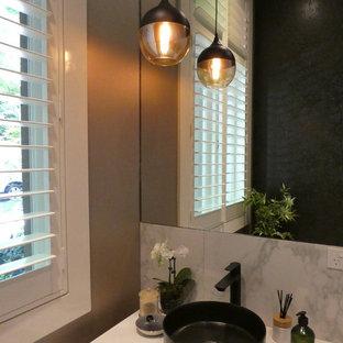 75 most popular melbourne powder room design ideas for