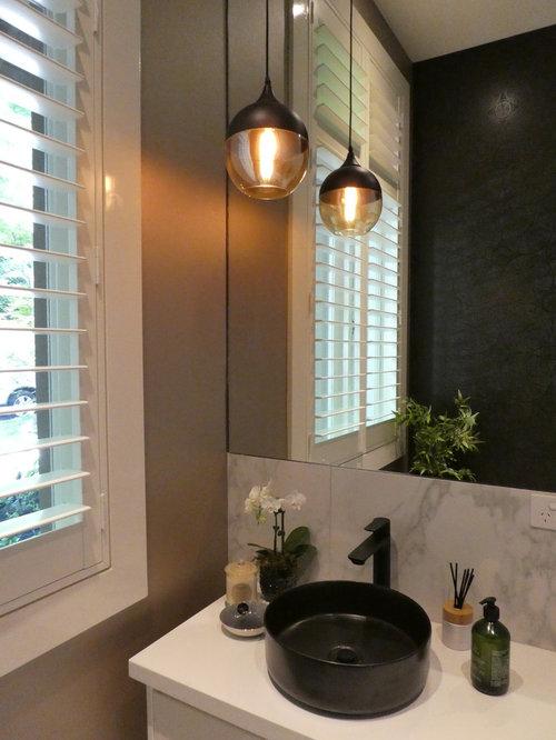 g stetoilette g ste wc mit toilette mit aufsatzsp lkasten ideen f r g stebad und g ste wc design. Black Bedroom Furniture Sets. Home Design Ideas