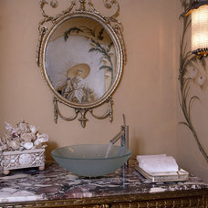 Traditional Powder Room by Susan Cohen Associates, Inc.