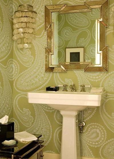 Современная классика Туалет by Elizabeth Dinkel