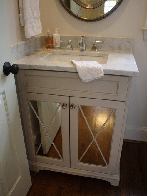 Traditional Charlotte Powder Room Design Ideas, Remodels & Photos
