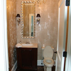 Traditional Powder Room by Bay Harbour Homes, LLC