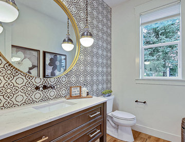 The Aurora : 2019 Clark County Parade of Homes : Powder Room