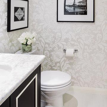 The Davis Home - Powder Bathroom