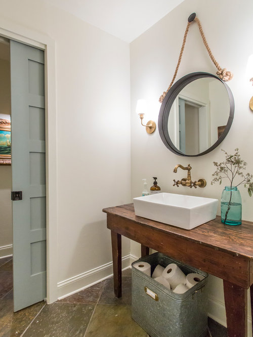 Farmhouse Powder Room Design Ideas Remodels Amp Photos