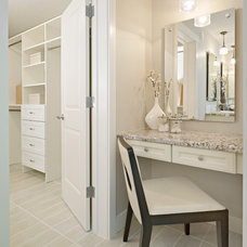 Traditional Powder Room by Homes by Avi