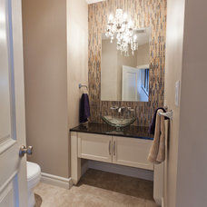 contemporary powder room by Galko Homes