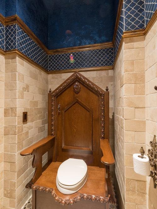 g stetoilette g ste wc mit granit waschbecken waschtisch und blauer wandfarbe ideen f r. Black Bedroom Furniture Sets. Home Design Ideas