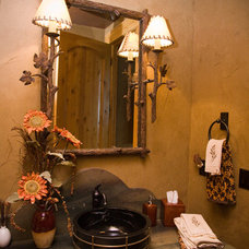 Traditional Powder Room by Tyner Construction Co Inc