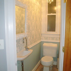 powder room tiny powder room