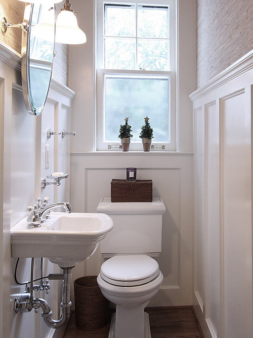 Vintage Powder Room Home Design Ideas, Pictures, Remodel and Decor