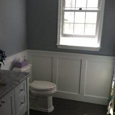 Traditional Powder Room by Chamberlin Kitchen & Bath