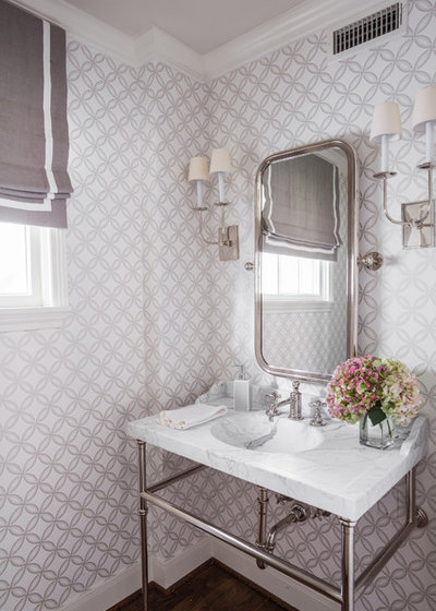 Traditional Powder Room by Marie Flanigan Interiors