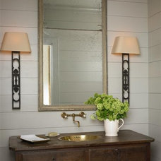 Traditional Powder Room by Bradley E Heppner Architecture, LLC