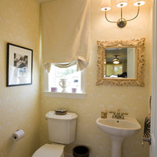 Traditional Powder Room Traditional Powder Room