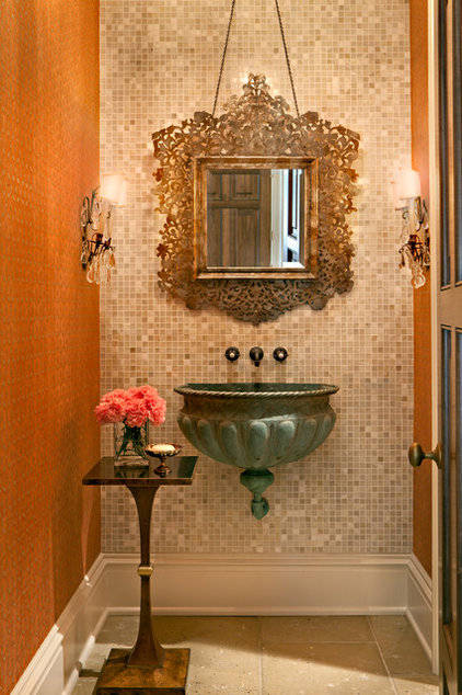 Traditional Powder Room by Jason Arnold Interiors