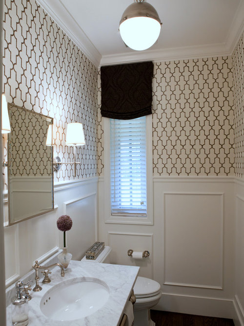 Moroccan Inspired Wallpaper Houzz